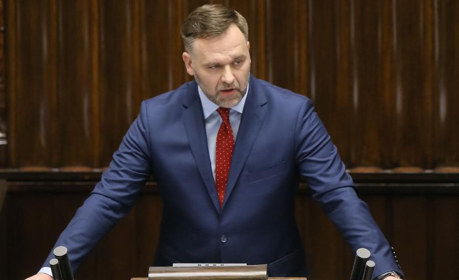 Minister Dawid Jackiewicz