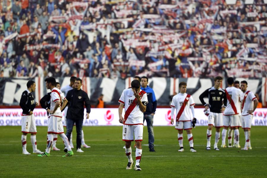 Piłkarze Rayo Vallecano
