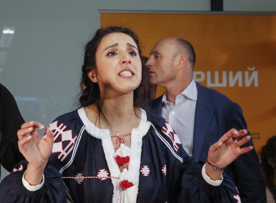 Tak witano Dżamalę w Kijowie