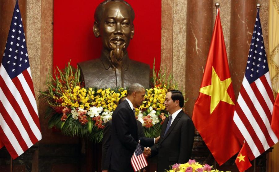 Barack Obama i Tran Dai Quang