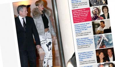 Zobacz Rihannę ubraną w gazety