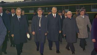 Leonid Breżniew i Edward Gierek
