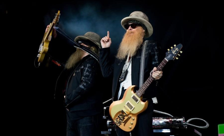 ZZ Top na Glastonbury 2016
