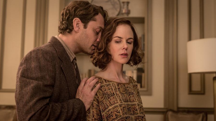 """Jude Law i Nicole Kidman - kadr z filmu """"Geniusz"""""""