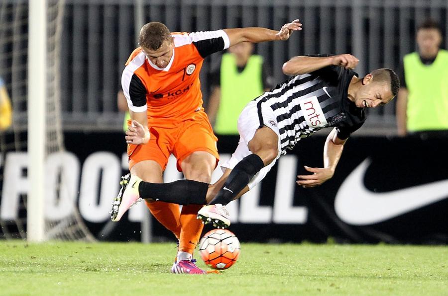 Mecz Partizan Belgrad - Zagłębie Lubin