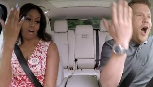 "Michelle Obama w ""Carpool Karaoke"""