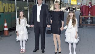 Aleksandra Woźniak z rodziną