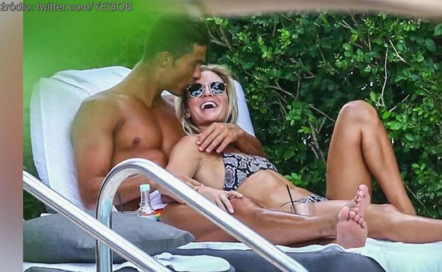 Cristiano Ronaldo i Cassandre Davis