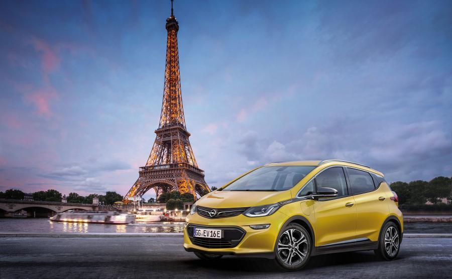 Opel ampera-e zadebiutuje w Paryżu