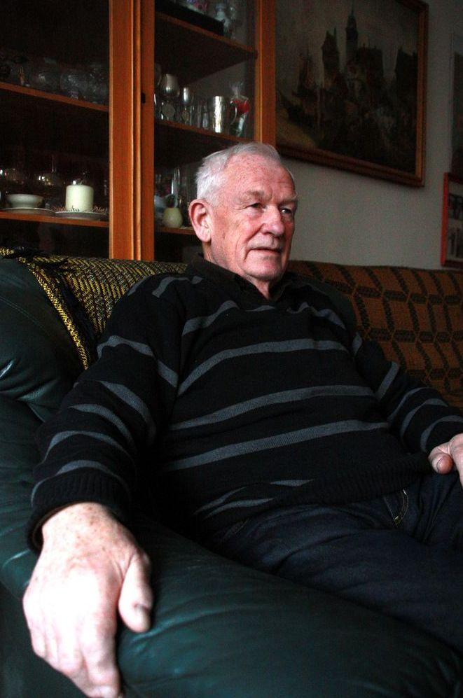 Franciszek Bąkowski, ocalały z masakry we wsi Huta Pieniacka 28 lutego 1944 roku