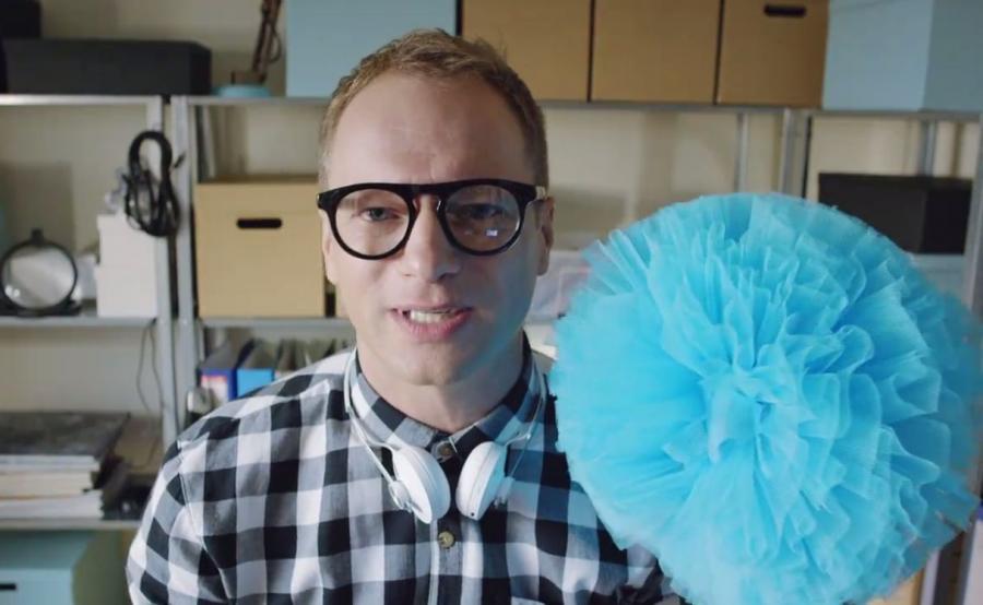 Maciej Stuhr jako youtuber