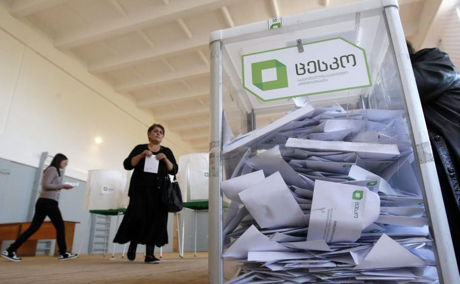 Wybory w Gruzji