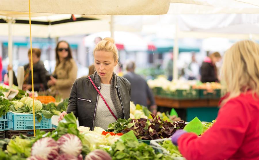Rynek warzywno-owocowy