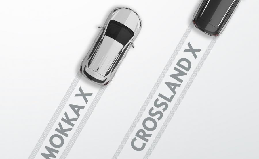 Opel crossland X na początku 2017