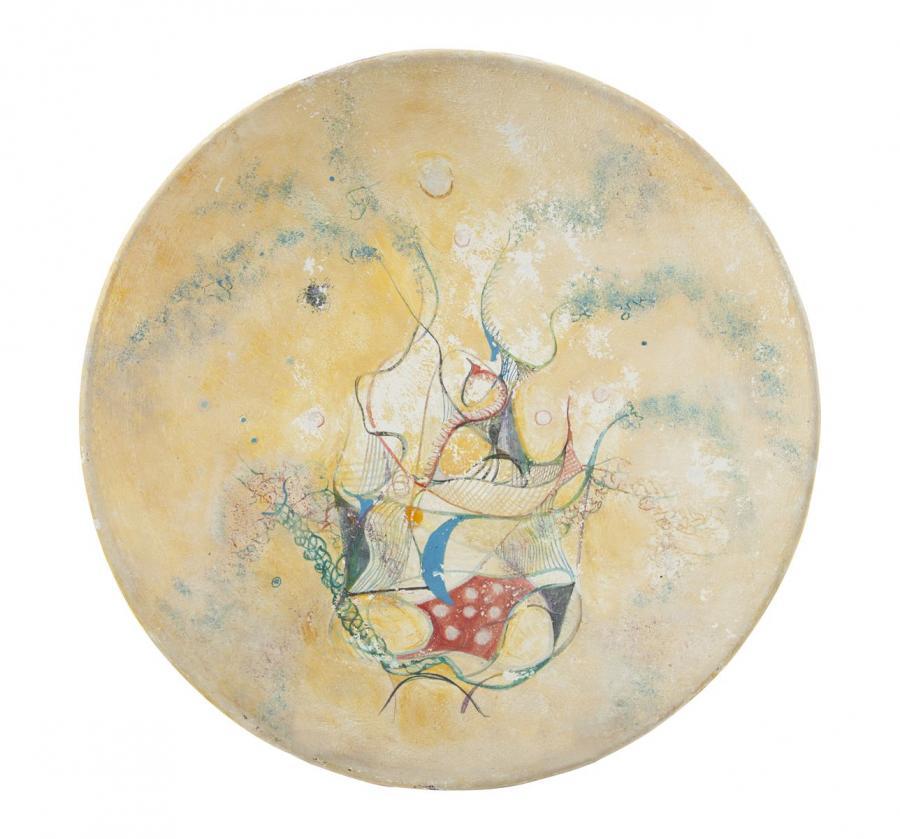 Malarstwo na ceramice: Erna Rosenstein
