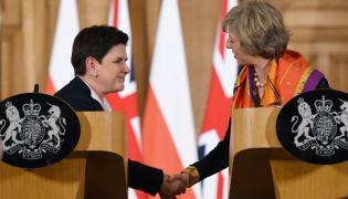 Beata Szydło i Theresa May