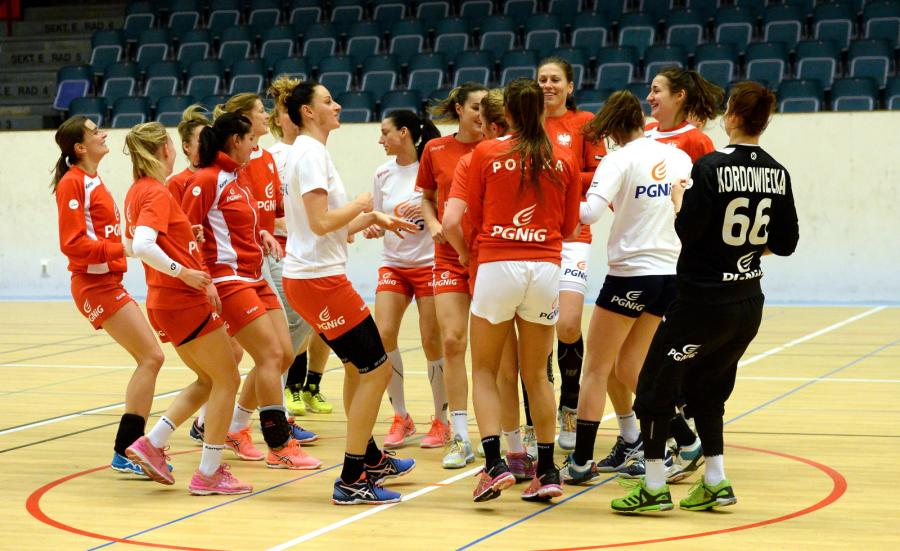 Zawodniczki reprezentacji Polski kobiet w piłkę ręczną
