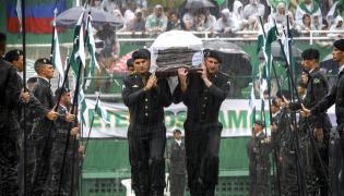Pogrzeb piłkarzy Chapecoense