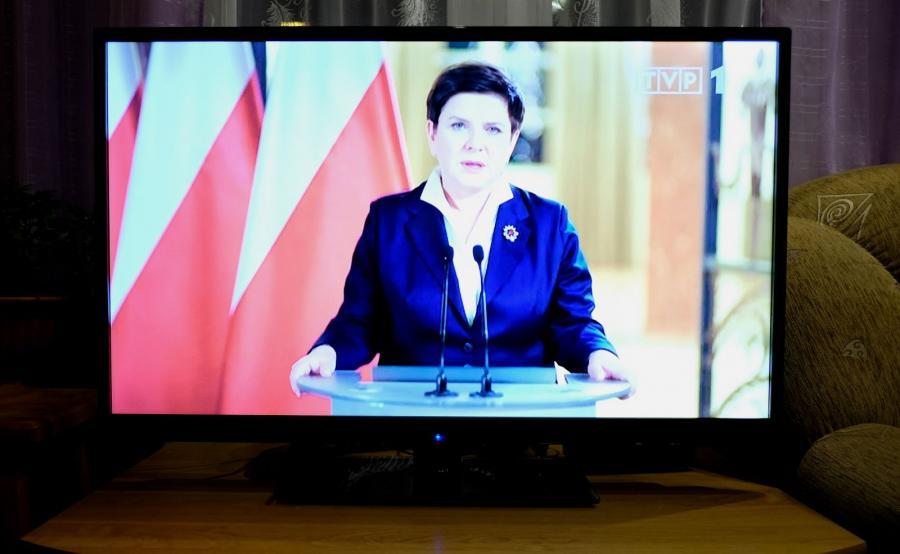 Wystąpienie premier Beaty Szydło