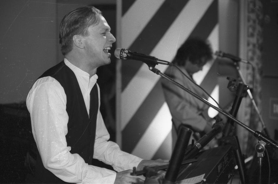 Koncert zespołu Republika w radiowej Trójce. Rok 1991