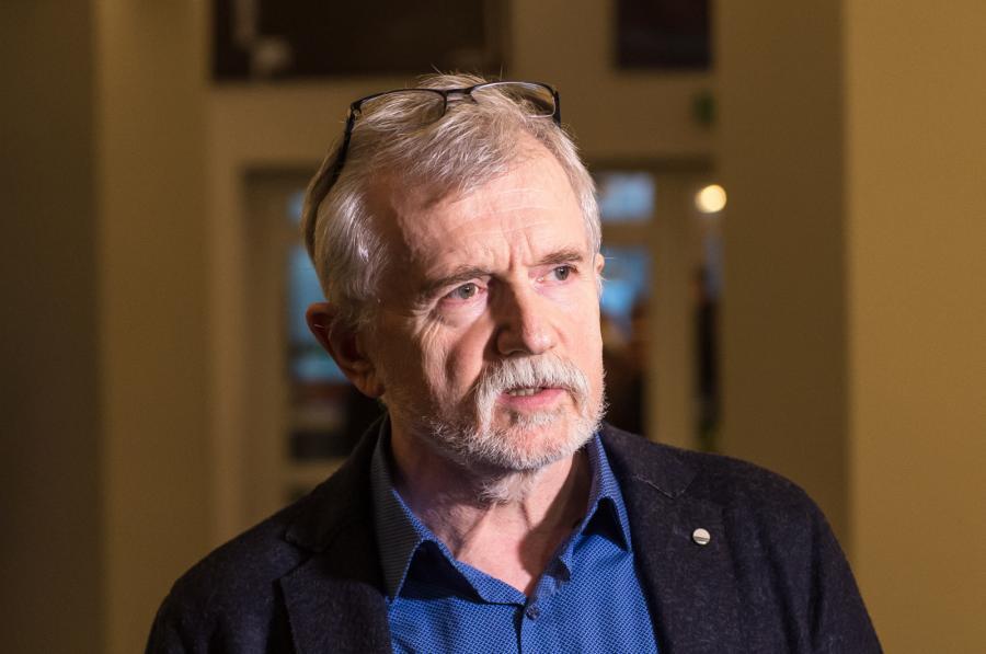 Dyrektor Teatru Polskiego Cezary Morawski