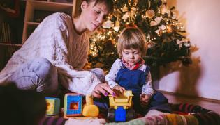 Zabawki pod choinką