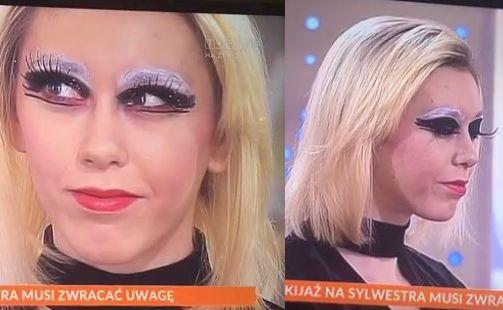 """Makijaż sylwestrowy w """"Pytaniu na śniadanie"""""""