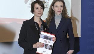 Maja Ostaszewska i Agata Buzek
