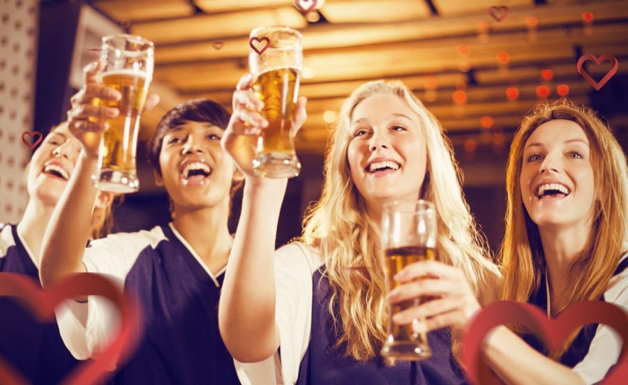 Kobiety z piwem