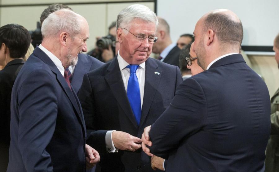 Antoni Macierewicz i Michael Fallon