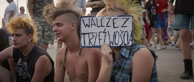 """Kadr z filmu """"Jarocin, po co wolność"""" fot. Barton Film"""