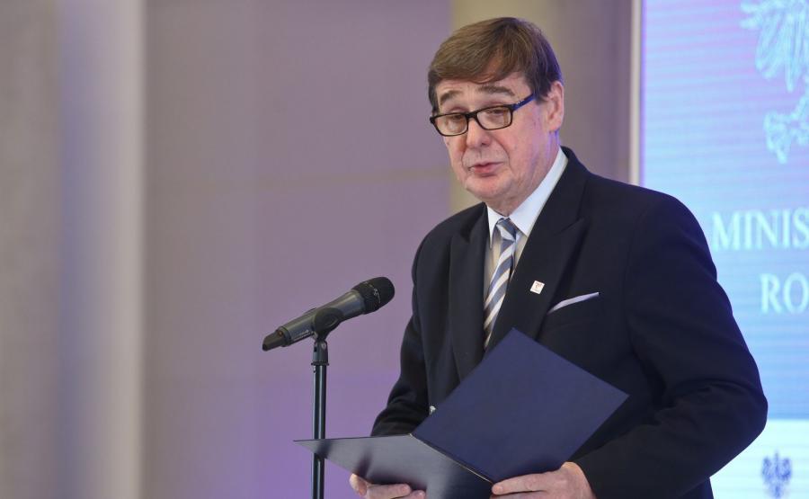 Nowy prezes PKP Krzysztof Mamiński