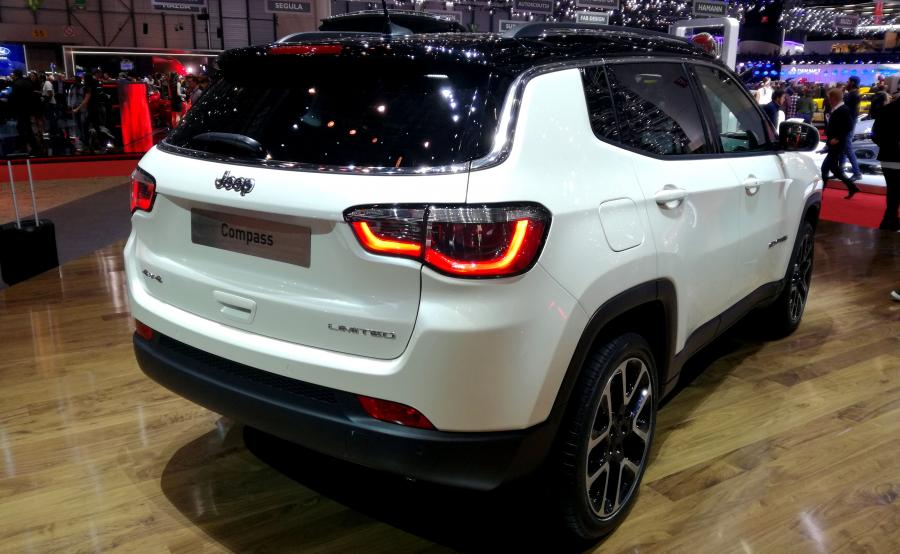 Jeep Compass w wersji Limited