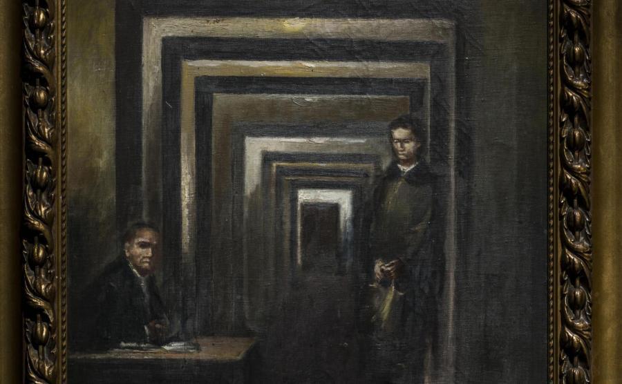 Obraz, który namalował Adolf Hitler